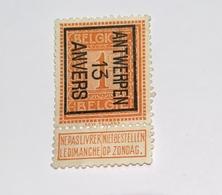 1913 1c Antwerpen - Vorfrankiert