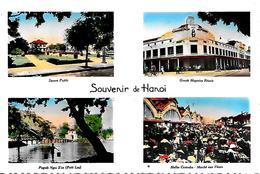CPA-1950-NORD VIETNAM-INDOCHINE-HANOI-MULTIVUES-TBE - Viêt-Nam