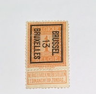 1913 - 1c Brussel - Precancels