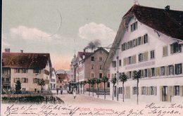 Kriens LU, Tramway, Gasthaus Zum Linde (30.12.04) - LU Lucerne