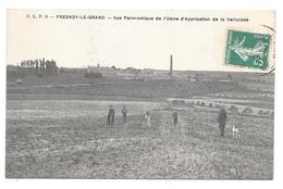 (22617-02) Fresnoy Le Grand - Vue Panoramique De L'Usine D'application De La Cellulose - France