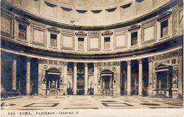 ITALIE - ROMA - Pantheon - Interno II - Pantheon