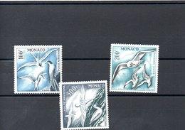 MONACO N° 55/57 - Poste Aérienne