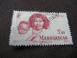 TIMBRE  MADAGASCAR   N  311      COTE  1,25  EUROS   OBLITÉRÉ - Used Stamps