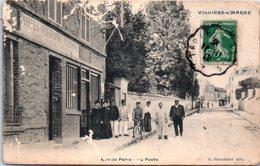 94 VILLIERS-SUR-MARNE - Rue De Paris, La Poste - Villiers Sur Marne