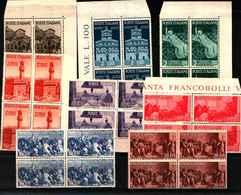 74064) ITALIA- Avvento Della Repubblica In Italia - 31 Ottobre 1946-MNH**- - 6. 1946-.. Republic