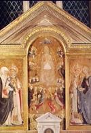 Pienza - Siena - L'assunzione E I Santi Caterina Da Siena - Callisto Pio I - Agata - Formato Grande Non Viaggiata – E 9 - Siena