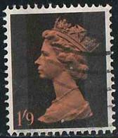 GB 1967 Yv. N°486 - 1/9 Noir Et Orange - Oblitéré - 1952-.... (Elizabeth II)