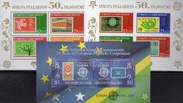 CEPT 2006 Salomon Bl.84,Türkei Blocks 58+59 ** 32€ Stamp On Stamps E1501 NL807 Bloque Hb Bloc Ss Sheets Bf CEPT - Salomon (Iles 1978-...)