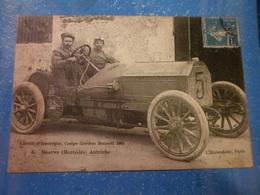 CPA ANIMEE - AUTOMOBILE - CIRCUIT D AUVERGNE 1905 - Cartes Postales