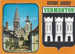 CPM 10X15 . VERMENTON (89) Ecusson Adhésif - Vermenton