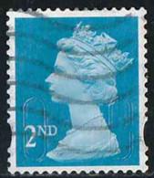 GB 2009 Yv. N°3102 - 2nd Bleu - Autoadhésif  - Oblitéré - 1952-.... (Elizabeth II)