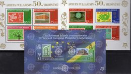 CEPT 2006 Salomon Bl.85,Türkei Blocks 58+59 ** 32€ Stamp On Stamps Andorra199 B1254 Bloque Blocs S/s Sheets Bf CEPT - Salomon (Iles 1978-...)