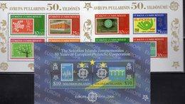 CEPT 2006 Salomon Bl.88,Türkei Blocks 58+59 ** 32€ Stamp On Stamps NL987 Norge905 Hb Bloque Blocs Ss Sheets Bf CEPT - Salomon (Iles 1978-...)
