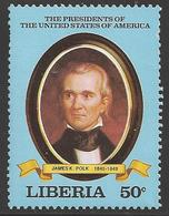 1981 US President, Polk, Mint Never Hinged - Famous People