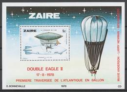 Zaire 1978 Mi# 580-87+ Bl.22** HISTORY OF AVIATION - Zaïre