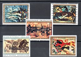 POLYNESIE N°65/69 - Poste Aérienne