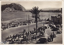 MONDELLO /  Veduta - Sullo Sfondo Monte Pellegrino _ Viaggiata Per Il Belgio 1955 - Palermo