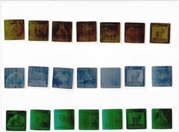 Turkmenistan. 2008 Fauna(Birds, Beast). Holograms: Green, Gold, Silver. 21v.   Michel # 240-60 - Turkménistan