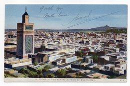 Tunisie--TUNIS -- Vue Générale Prise Du Dar-El-Bey   --- Carte Colorisée - Tunesië