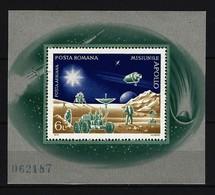 RUMÄNIEN Block Mi-Nr. 102 Mondausflug Der Raumfahrer Postfrisch - Blocks & Sheetlets