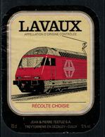 Rare // Etiquette De Vin // Trains  // Lavaux, Récolte Choisie - Treni