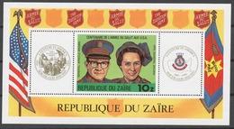 Zaire 1980 Mi# Bl.34** SALVATION ARMY, CENTENARY - Zaïre