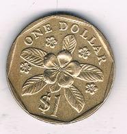 1 DOLLAR 1989 SINGAPORE /8615/ - Singapour