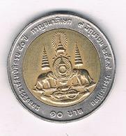 10 BAHT  2539 AH THAILAND /8619/ - Thaïlande