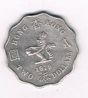 2 DOLLAR  1979 HONGKONG /8622/ - Hong Kong