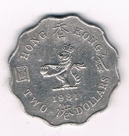 2 DOLLAR  1981 HONGKONG /8623/ - Hong Kong
