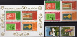 CEPT 2006 Bhutan 2488/9,Türkei VB+Block 59 ** 40€ Bogen-Schütze Stamp On Stamps Hoja Bloque Blocs S/s Sheets EUROPA - Bhutan