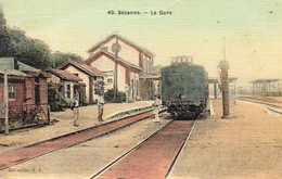 ! Sézanne - La Gare - Sezanne