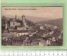 BAGNI Della PORRETTA Panorama Visto Da Monte Albano _ Bologna Cartolina BN VG 19xx Rif.C0002 - Bologna