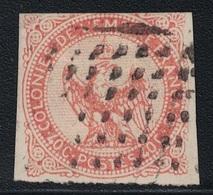 COLONIES GENERALES - GUADELOUPE - N°5 - LOSANGE DE POINT 7x7 DE POINTE A PITRE. - Águila Imperial