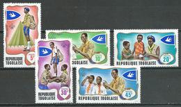 Togo YT N°588/592 Scoutisme Neuf ** - Togo (1960-...)