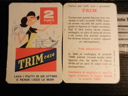 19829) TRIM CASA FIGURINA DETERSIVO PIATTI Credo Anni '60 OTTIME CONDIZIONI - Publicité