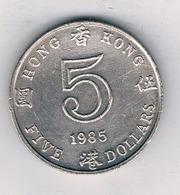 5 DOLLAR  1985 HONGKONG /8628/ - Hong Kong