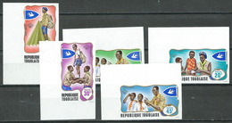 Togo YT N°588/592 Scoutisme NON DENTELE COIN DE FEUILLE Neuf ** - Togo (1960-...)