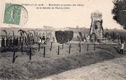 ! Etrepilly - Monument Et Tombes Des Héros De La Bataille De L ' Ourcq - Autres Communes