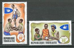Togo Poste Aérienne YT N°100/101 Scoutisme Neuf ** - Togo (1960-...)