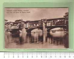 FIRENZE Ponte Vecchio _ Cartolina BN VG 1915 Rif.C0005 - Firenze (Florence)