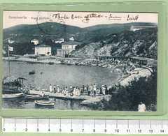 QUERCIANELLA Bagni Paolieri _ LIVORNO Cartolina BN VG 1920 Rif.C0008 - Livorno