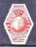 MONACO  STAMP  EXPO.  1952   (o) - Revenue
