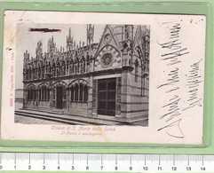 PISA CHiesa S. Maria Della Spina _ Cartolina BN VG 1909 Rif.C0012 - Pisa