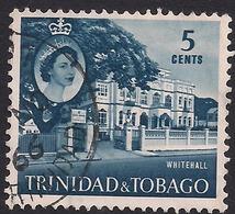 Trinidad & Tobago 1960 - 67 QE2 5ct Whitehall SG 286 ( K1103 ) - Trinidad & Tobago (...-1961)