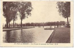 PARC DE SCEAUX - La Barque De Passage Du Canal - Sceaux