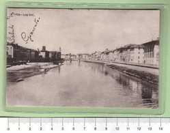 PISA Lung'arni _ PISA Cartolina BN VG 1914 Rif.C0015 - Pisa