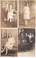 FAMILIA FAMILY SCHAFFNER LOTE X 11 PHOTOS CIRCA 1910. JUDAICA JUDEN- BLEUP - Identified Persons