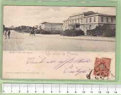LIVORNO Saluti _ Cartolina BN VG SF 19xx Rif.C0016 - Livorno
